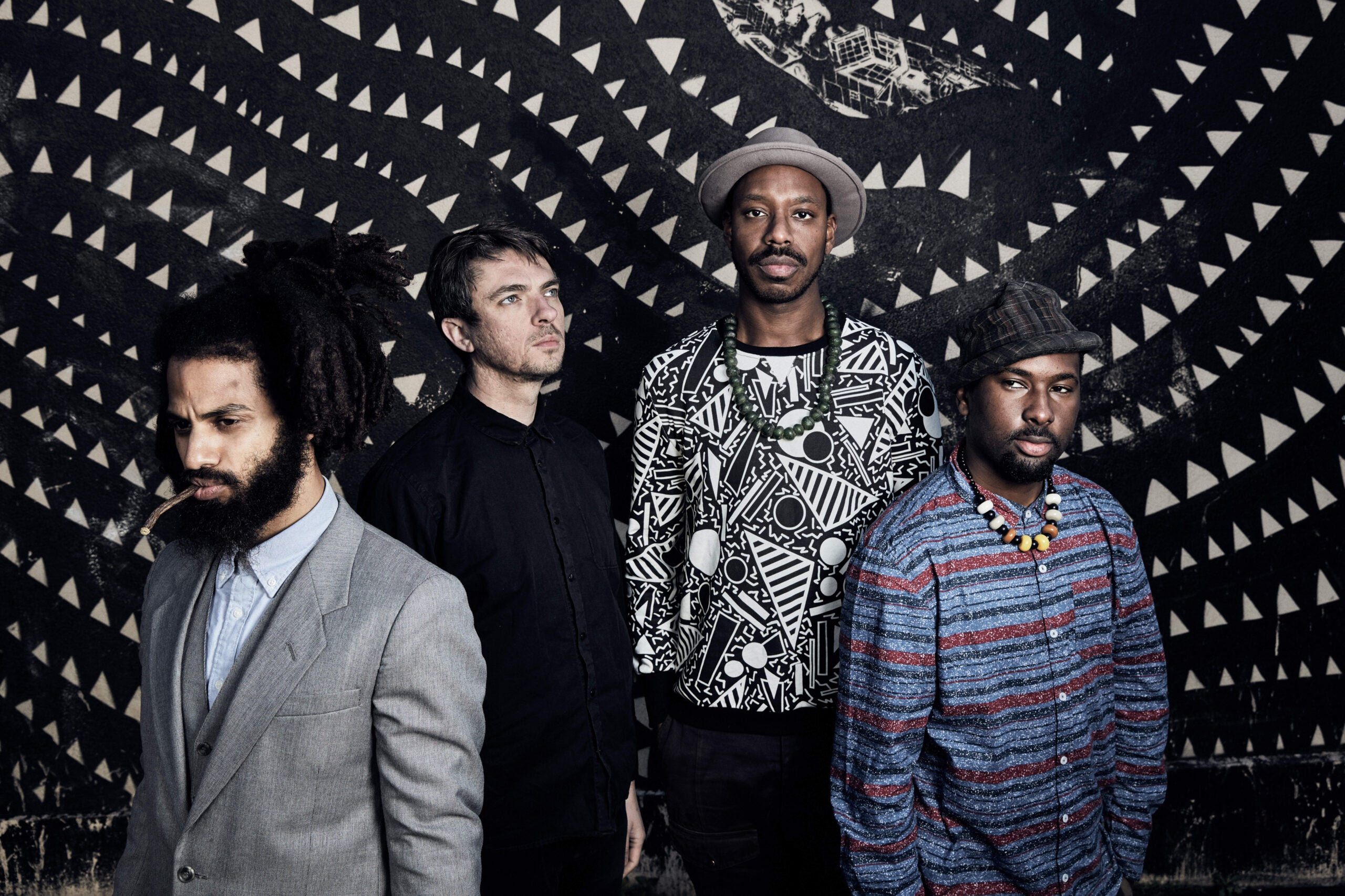 """Mercury Prize favourites Sons of Kemet: """"We are surrounded by the rise of fascism"""""""