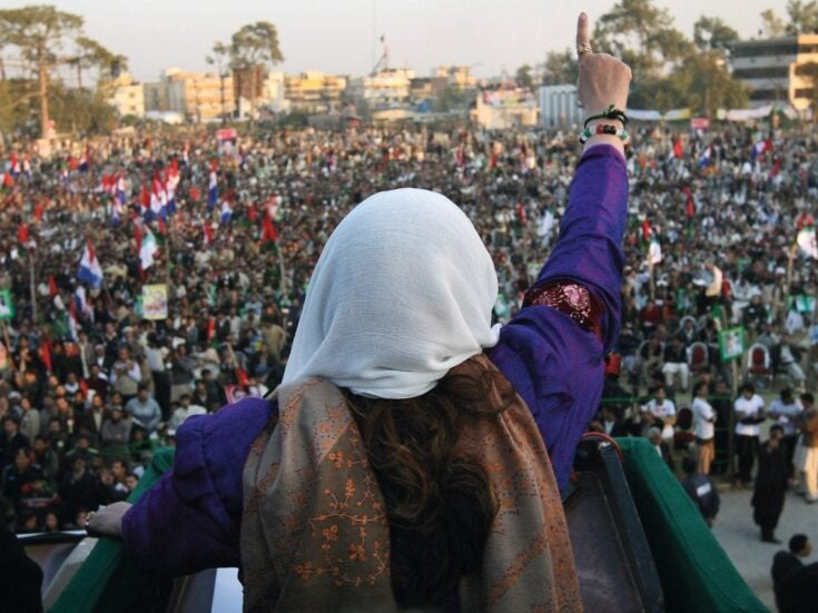 The photo that shaped me: Christina Lamb on Benazir Bhutto