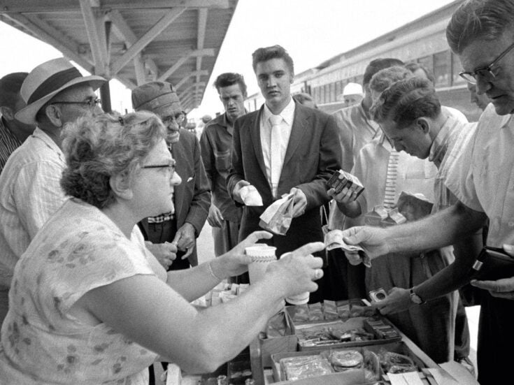 The photo that shaped me: Kevin Barry on Elvis's packed lunch