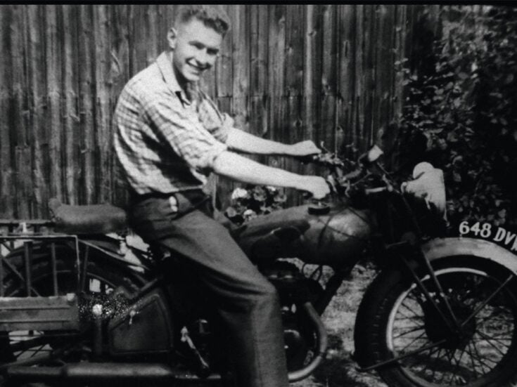The photo that shaped me: Grayson Perry on his father's motorbike