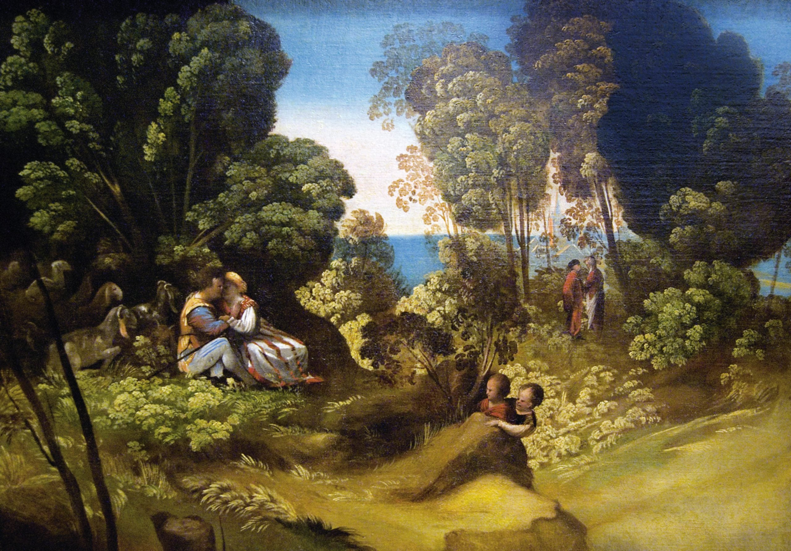 The witty landscapes of Dosso Dossi