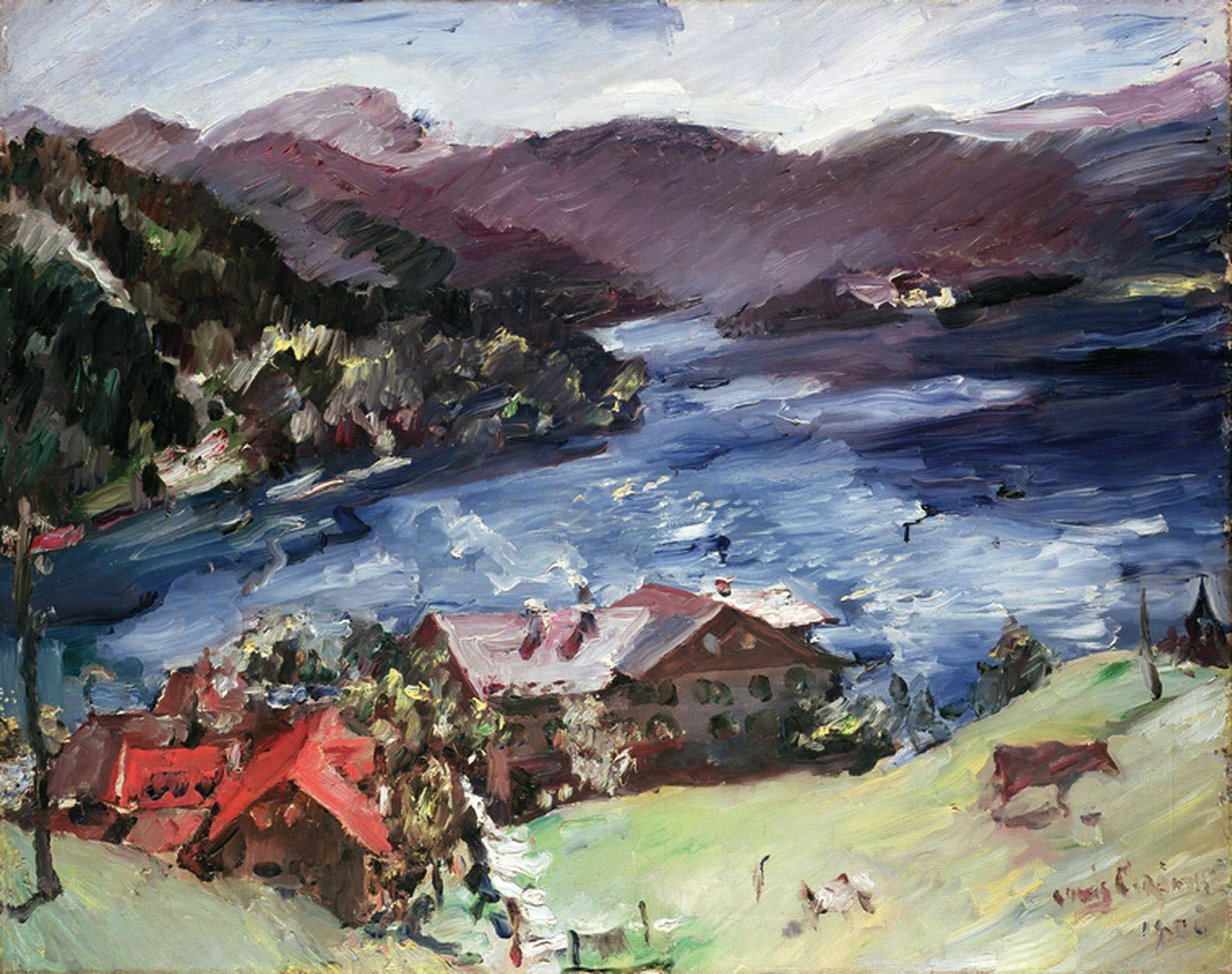 How the German painter Lovis Corinth found his many moods reflected in a Bavarian lake
