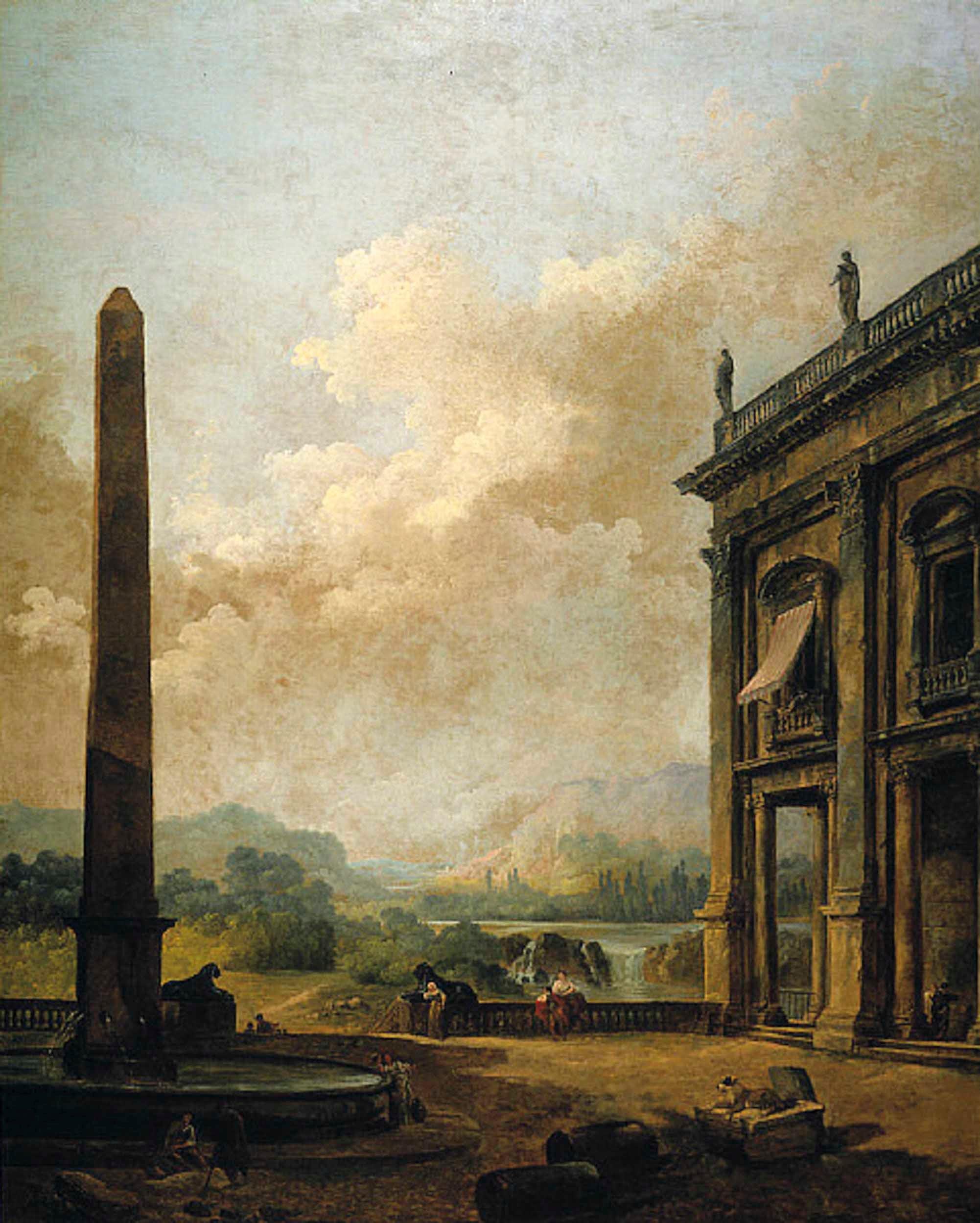 The ruin-strewn landscapes of Hubert Robert