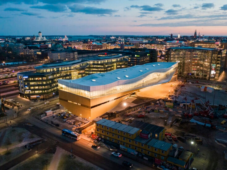 Helsinki's €100m new library includes sewing machines, recording studios and kitchens (and books)