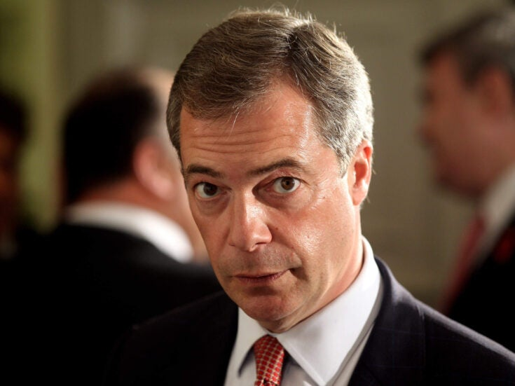 A bad press for Farage doesn't automatically help the Tories