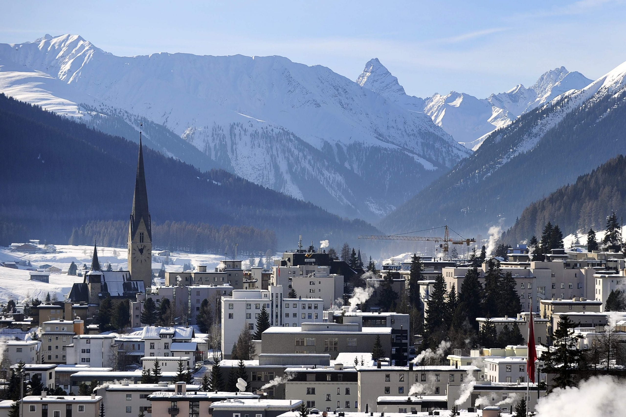 The global elite in Davos must give the world a pay rise