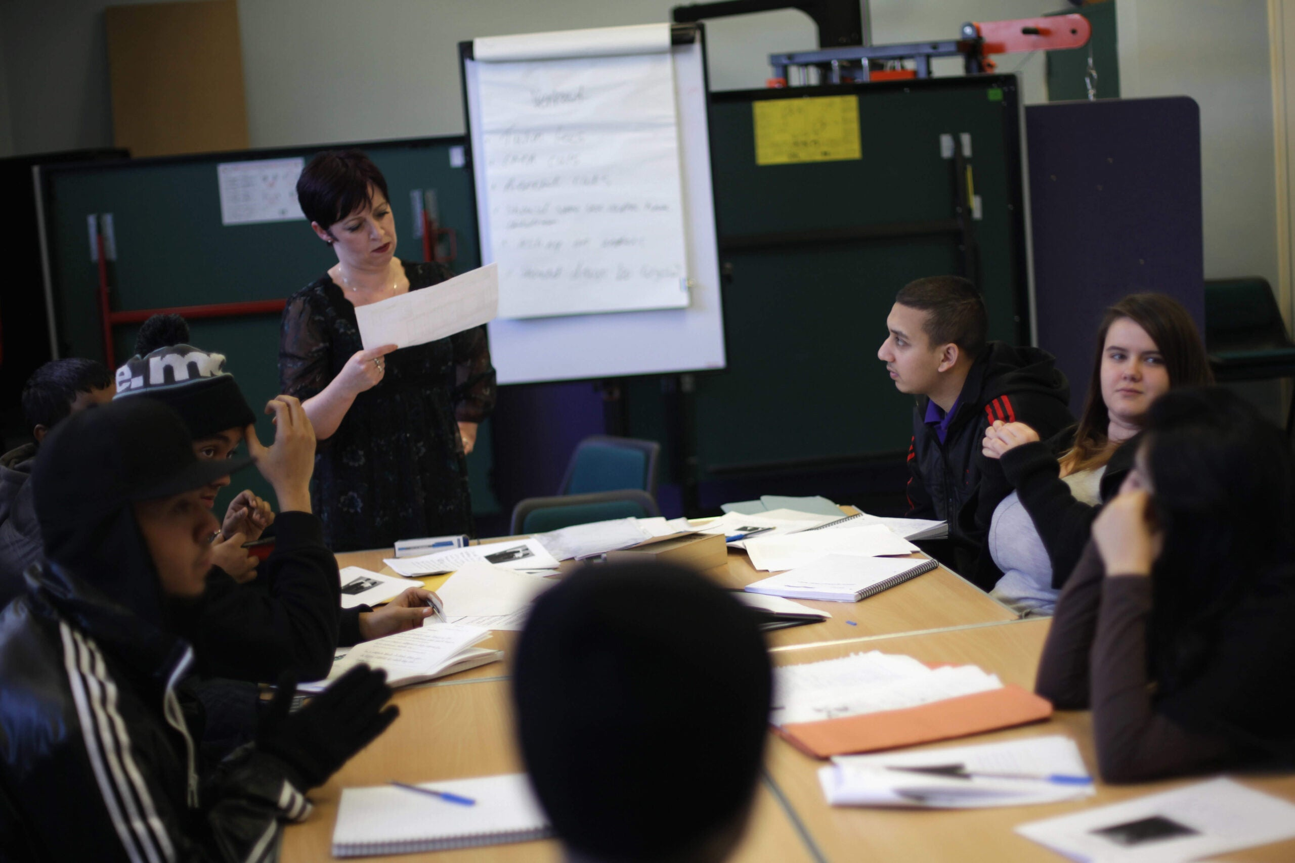 Young people need more help moving from education into work