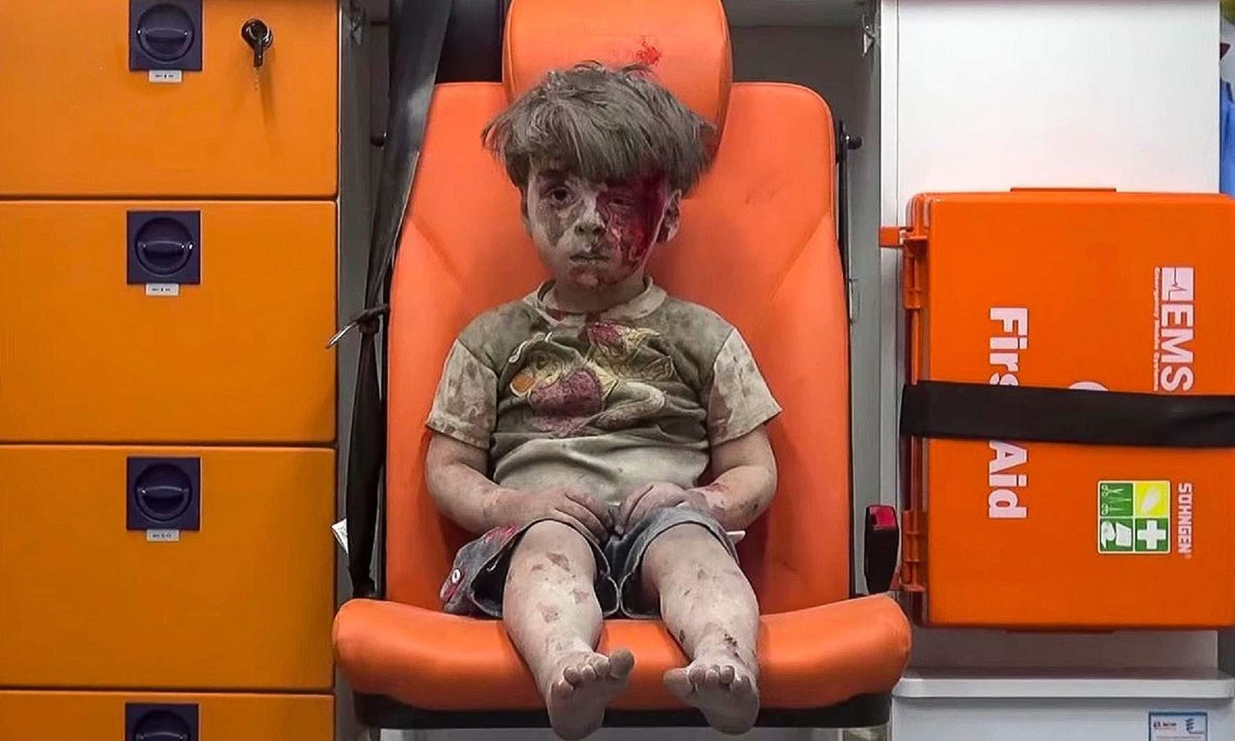"""""""I was crying as I was filming"""": the Aleppo photographer who captured the boy in the ambulance"""