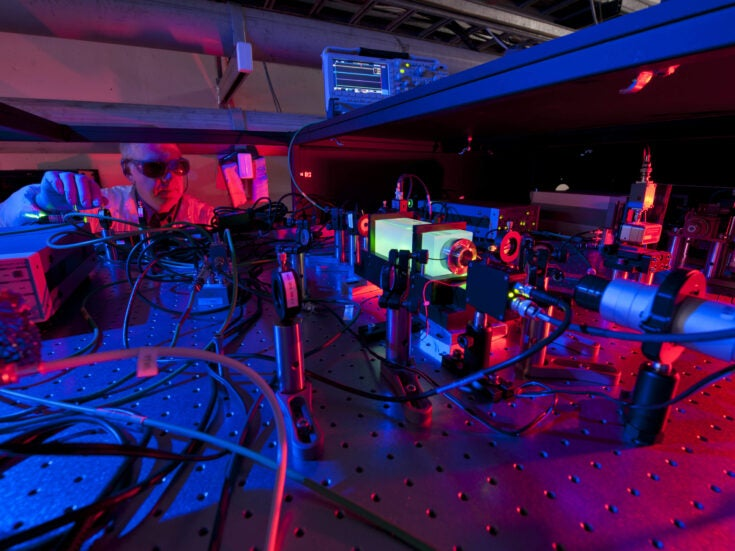 Particle accelerator experiment begins search for evidence that we live in a hologram