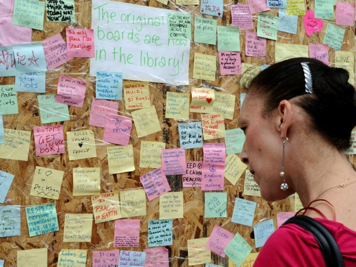 Danny Dorling: mapping the August 2011 riots