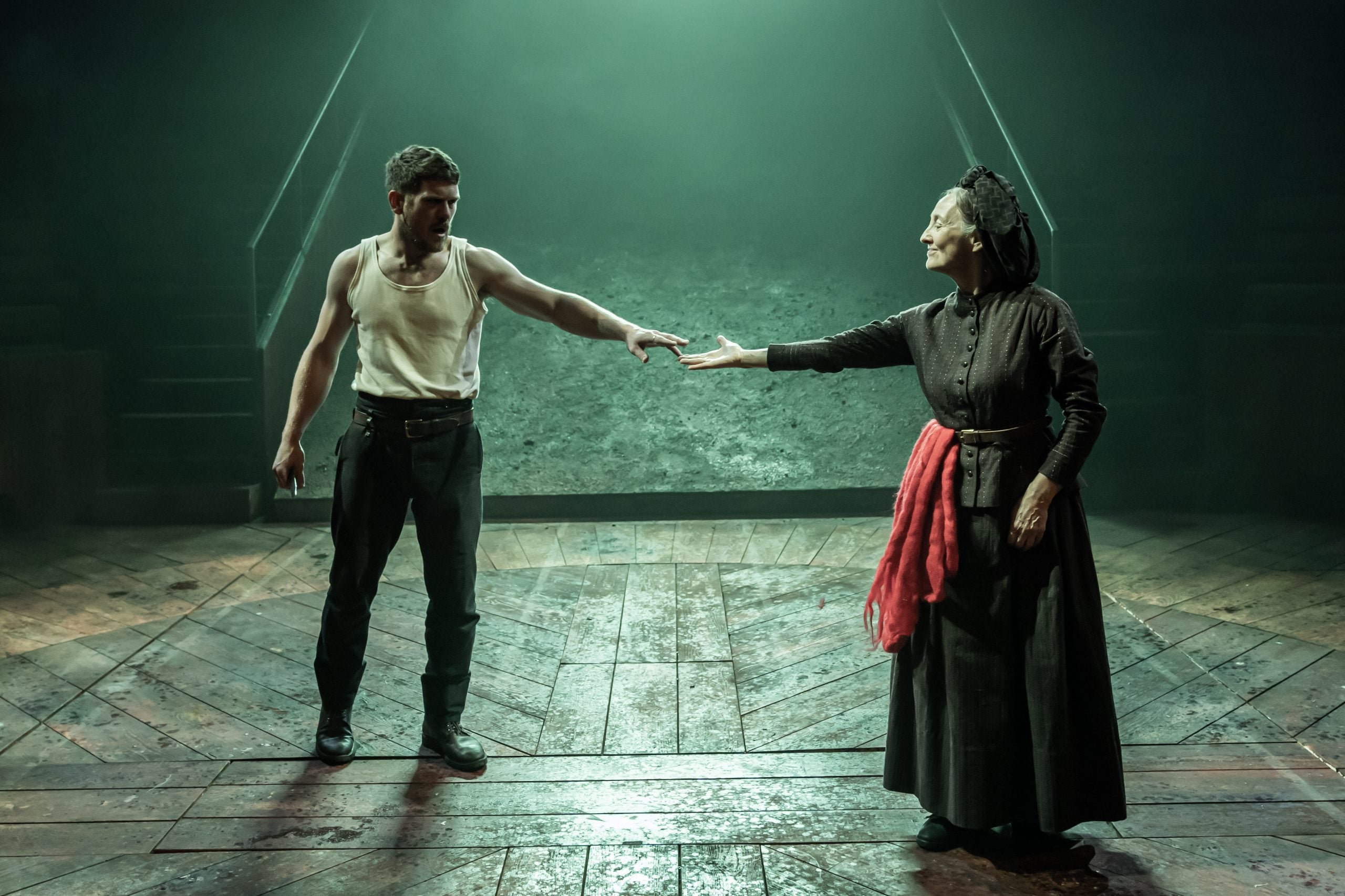 Blood Wedding at Young Vic: a woozy, inky world