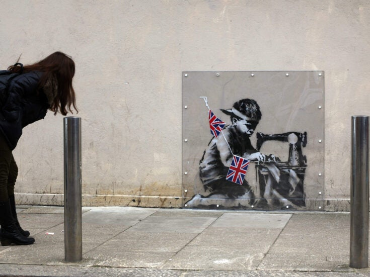 Stealing Banksy? Meet the man who takes the street art off the street