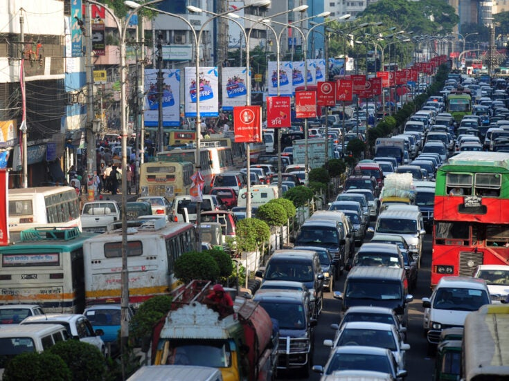 Welcome to the traffic capital of the world