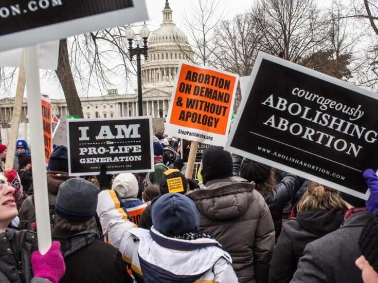 Pro-life organisations are sneaking in to the lives of vulnerable women