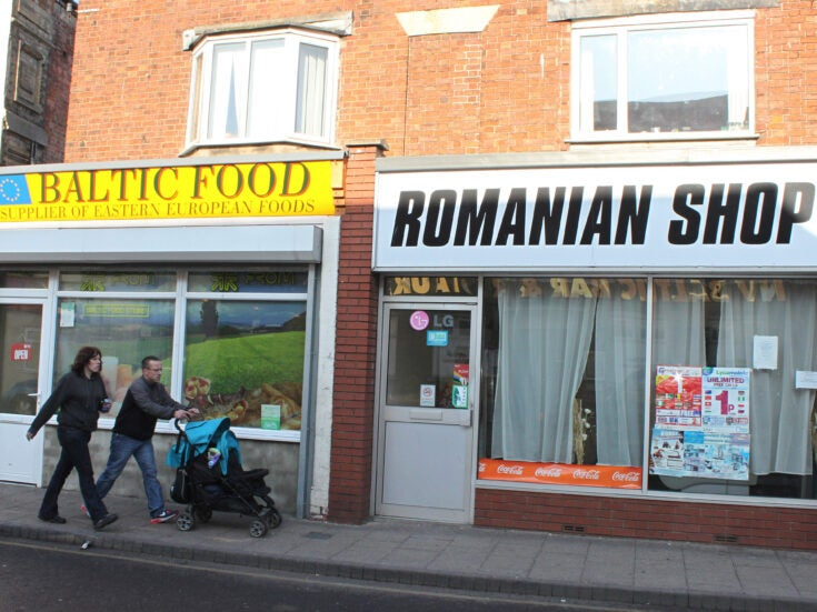 Romanian and Bulgarian stats show up immigration scaremongering
