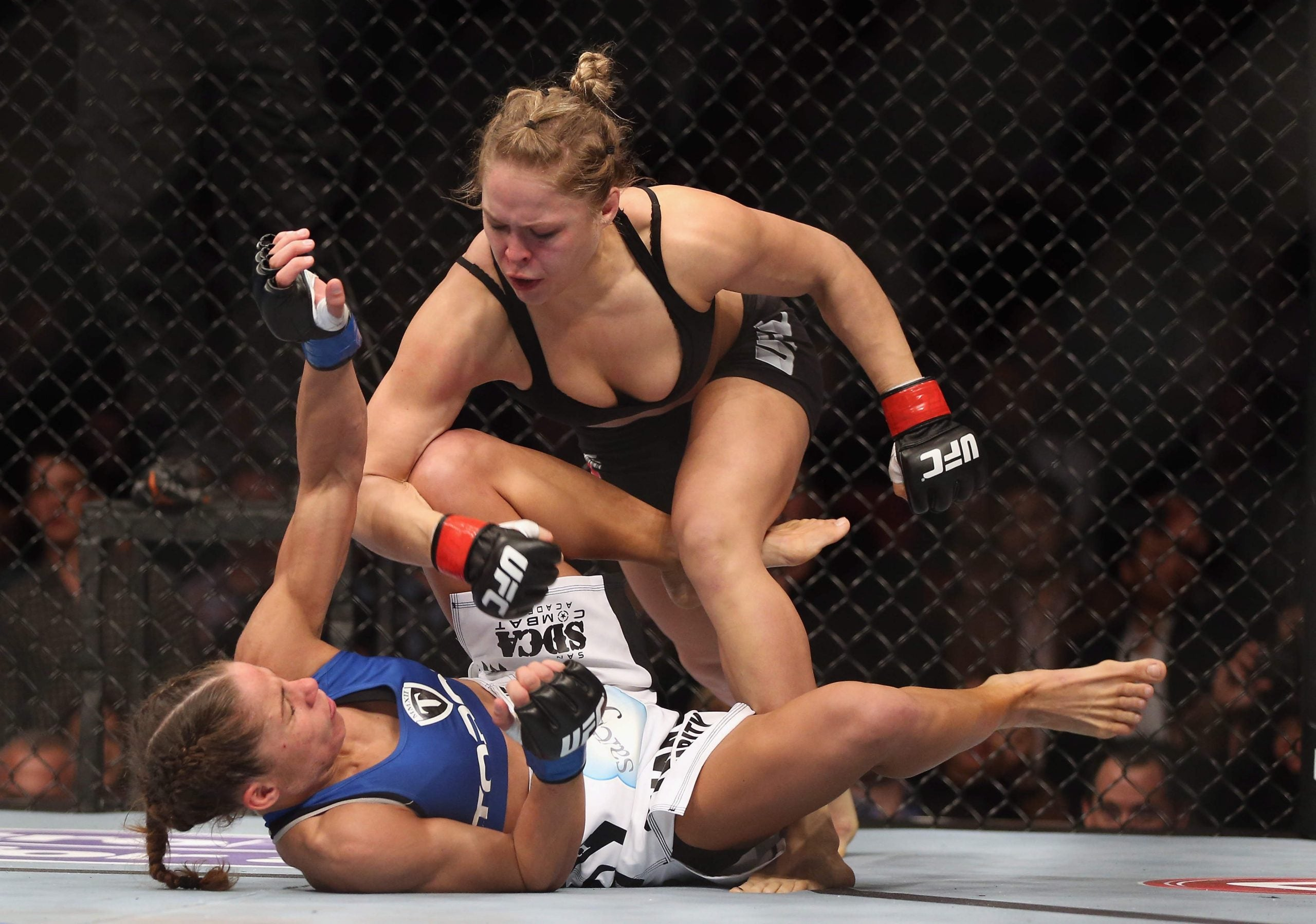Why the UFC is treating its female fighters better than (almost) any other sport