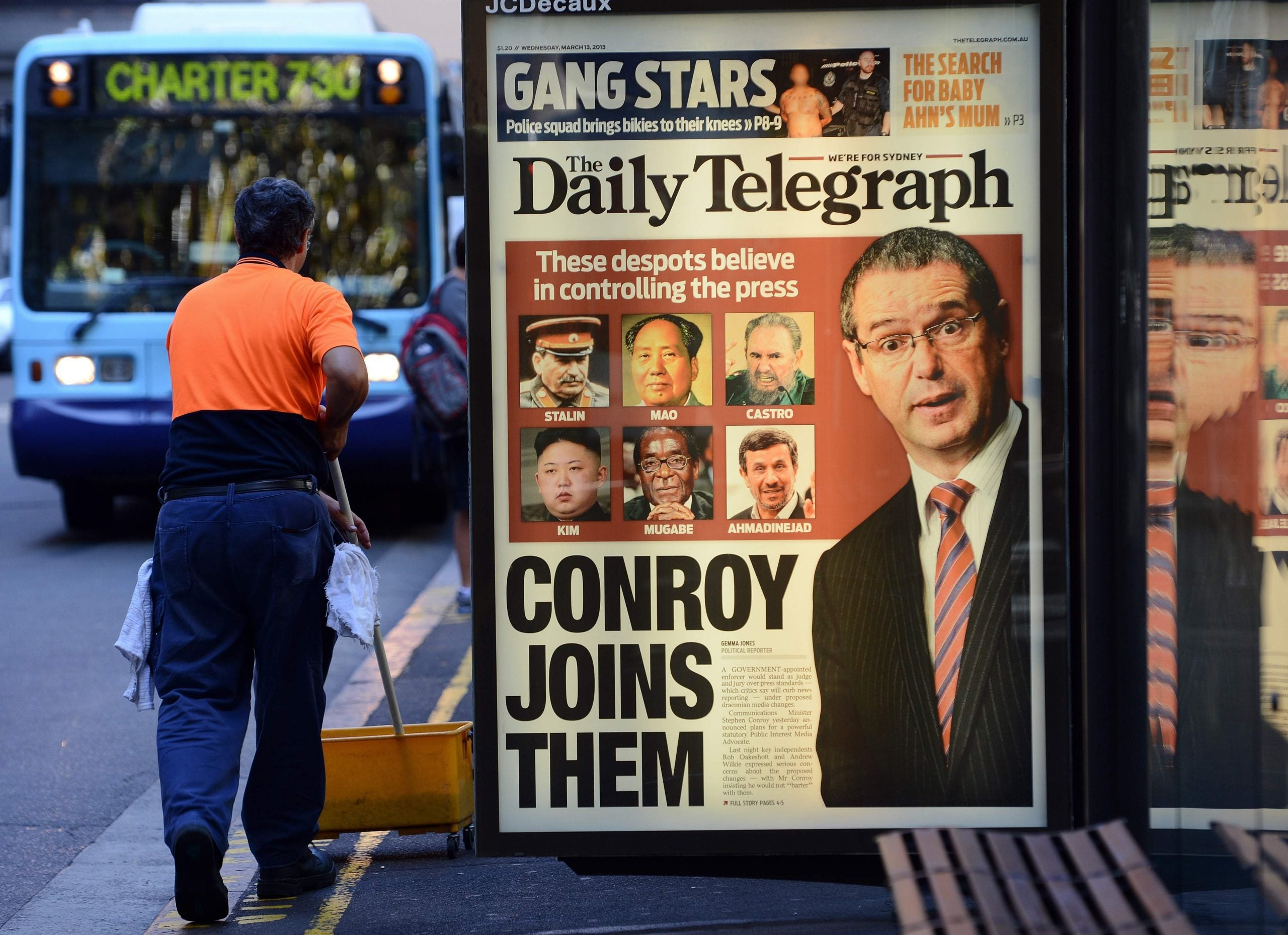 Hold the front page! We need free media not an Order of Mates