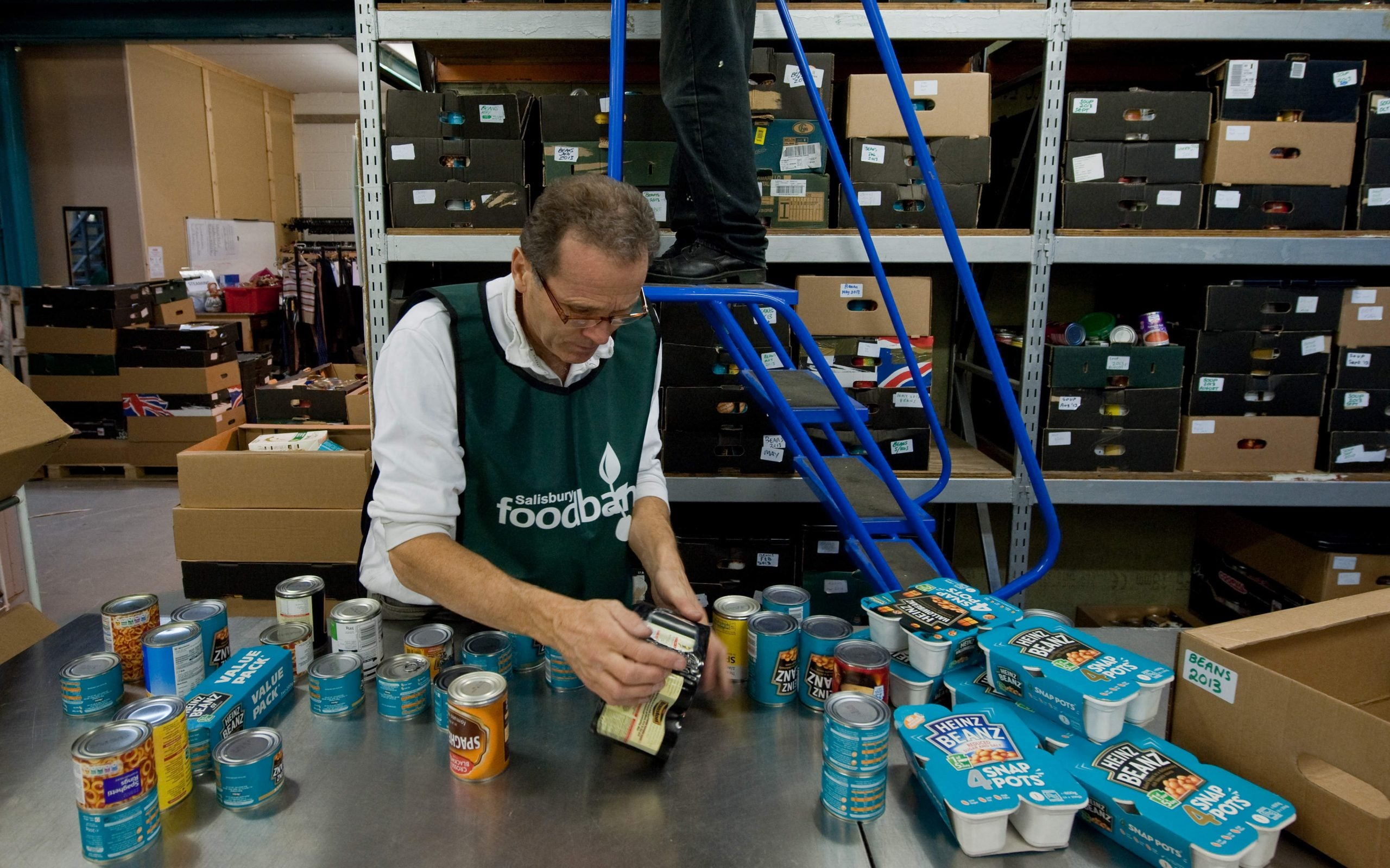Ministers can no longer deny the link between food banks and benefit cuts