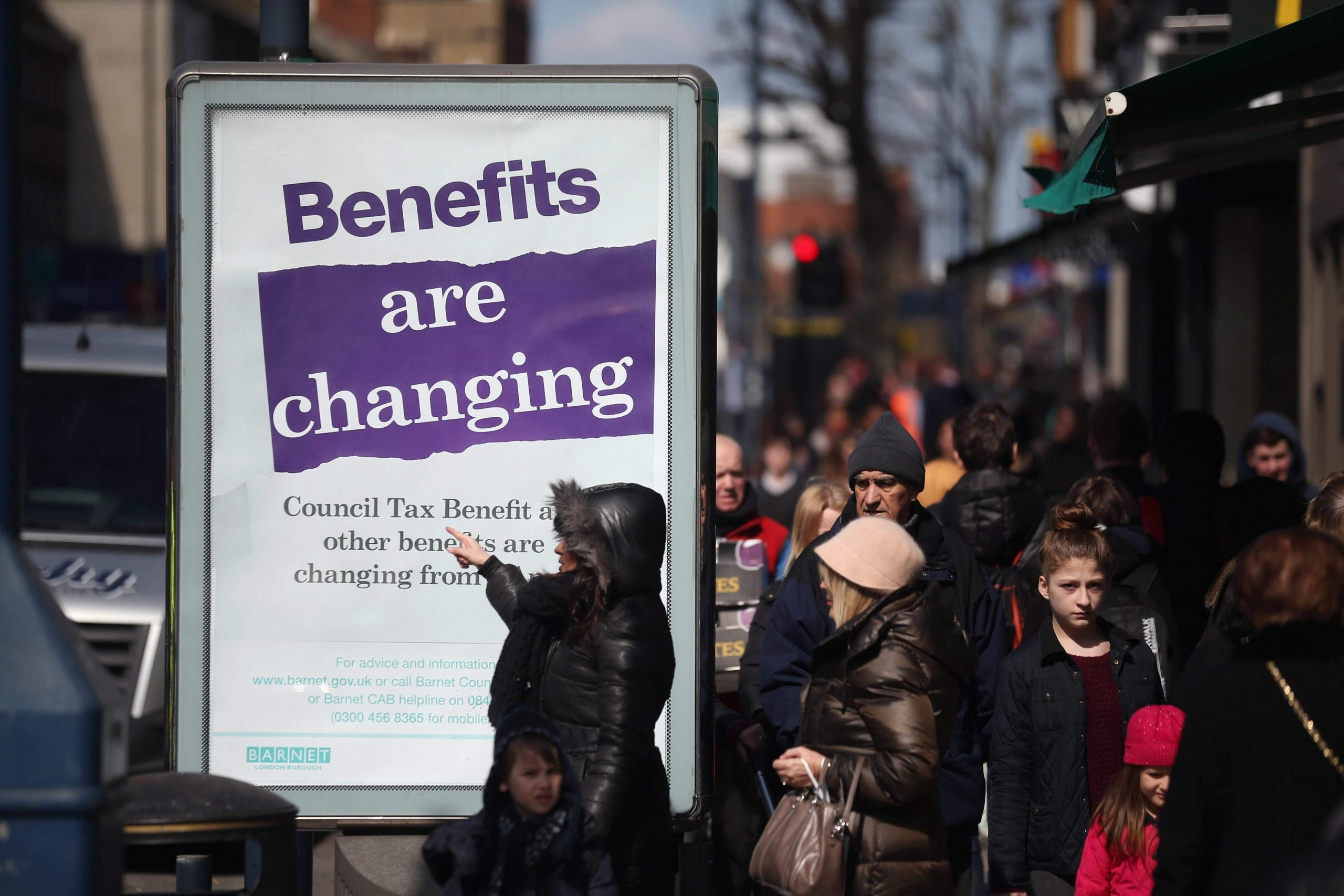 """Ministers are reaching beyond """"scroungers"""" and aiming at Britain's working poor"""
