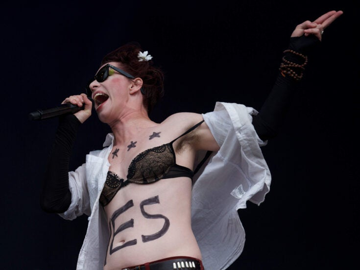 Standing naked in front of an audience: Amanda Palmer and a new way to make art