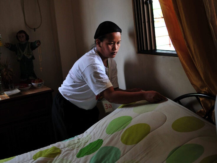 The government overlooks foreign domestic workers being treated as slaves