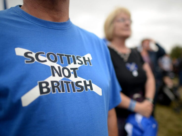 Independence of the Scottish mind has shown up the failure of British nationalism
