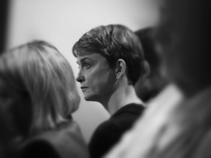 """Yvette Cooper: """"We can't just turn our backs on women who are becoming victims of crime"""""""