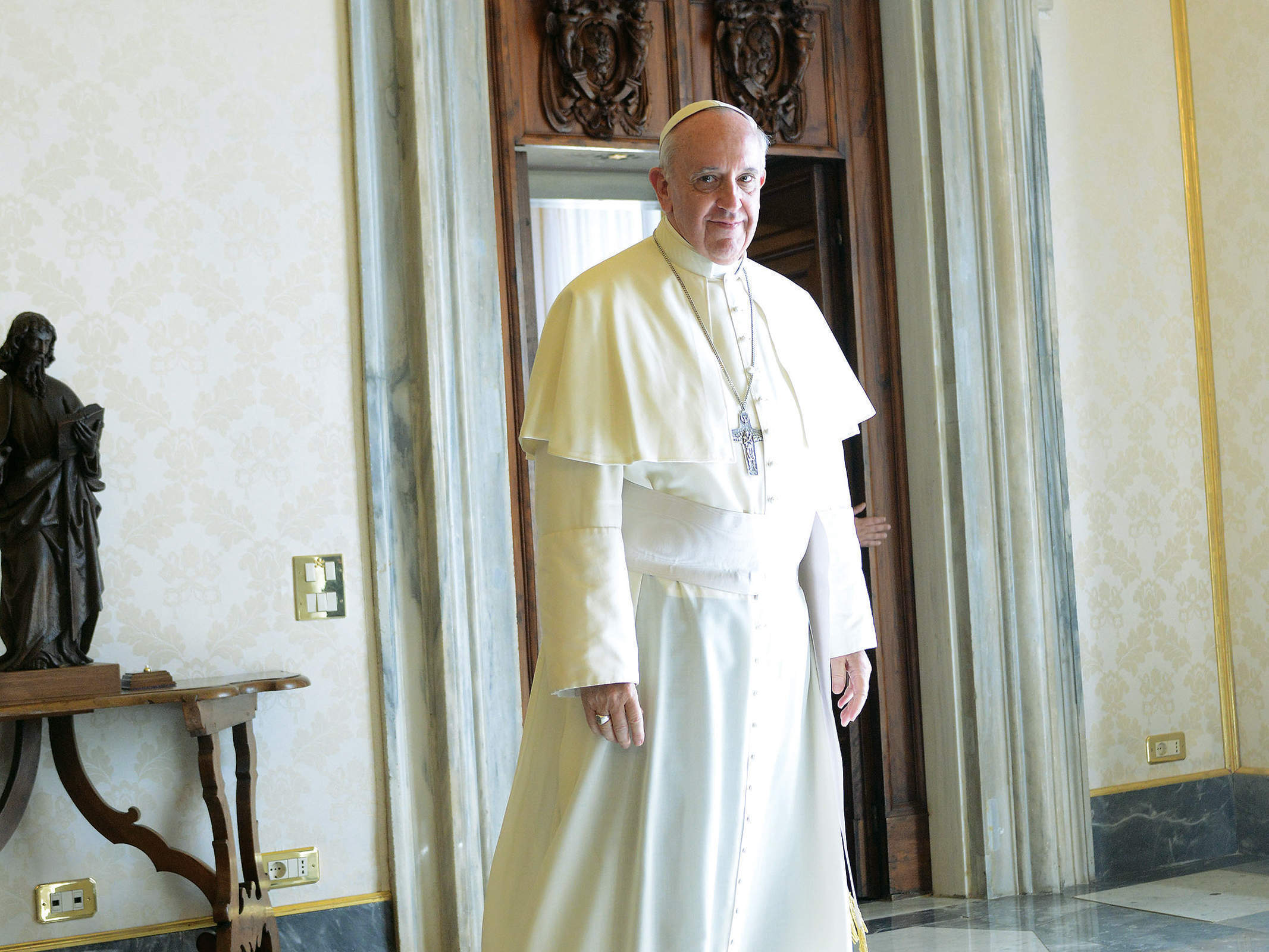 Pope Francis's mission to cleanse the Catholic Church of luxury