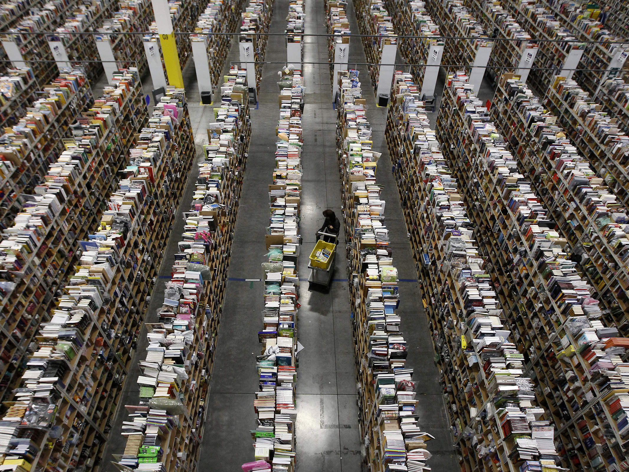 How I learned to stop worrying and love Amazon
