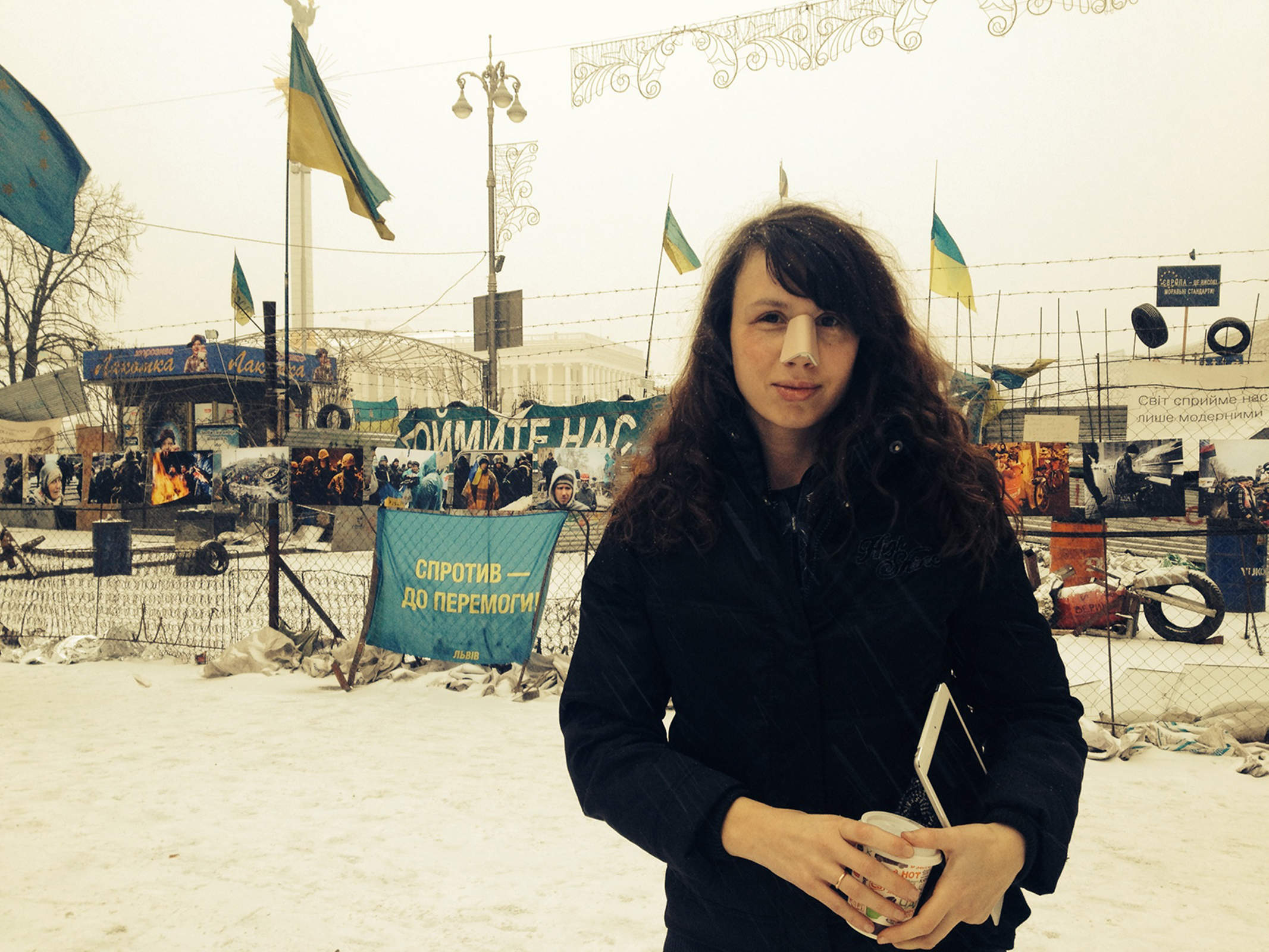 No chickening out for activists subject to intimidation in Kiev