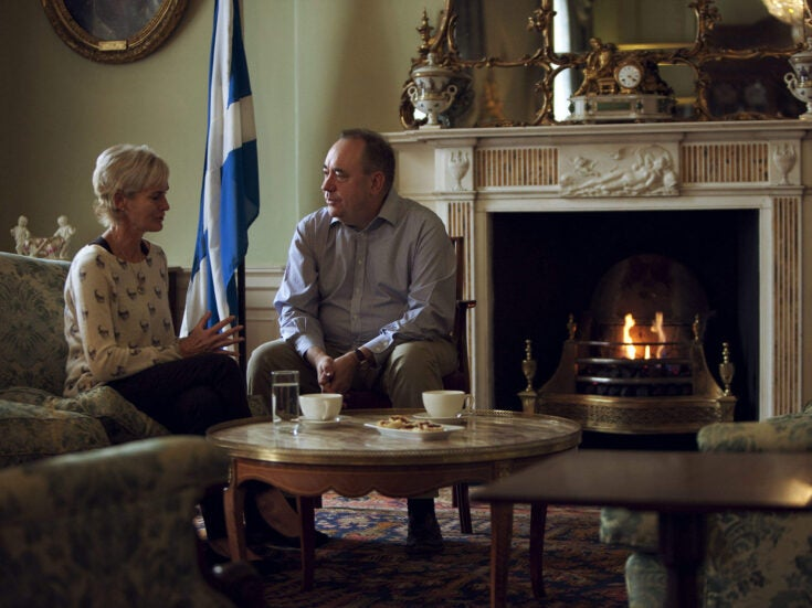 """Judy Murray talks to Alex Salmond: """"When Andy lost the Wimbledon final, I knew how he was hurting"""""""