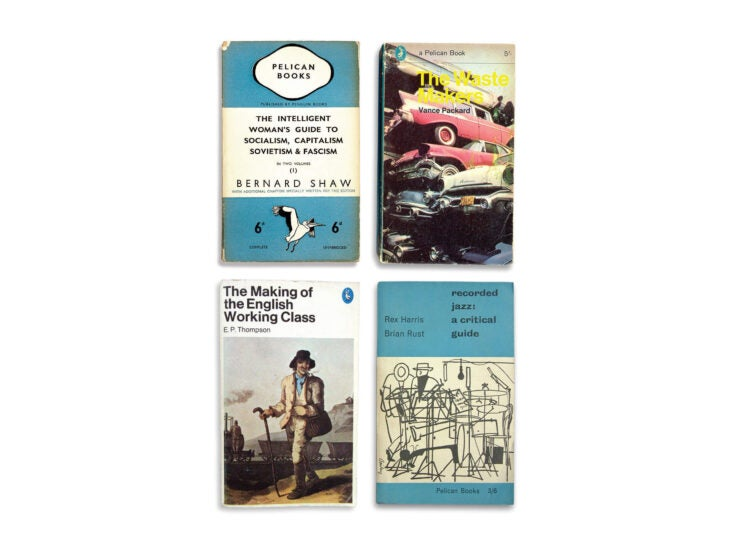 Blue, white and read all over: the return of Pelican Books