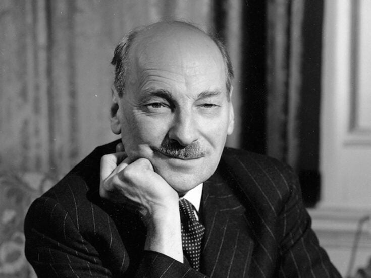 Clement Attlee, the original Ed Miliband