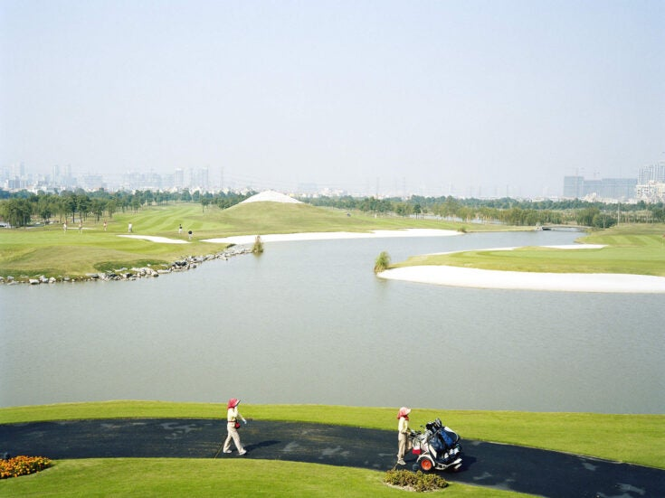 The Chinese golf courses that don't officially exist