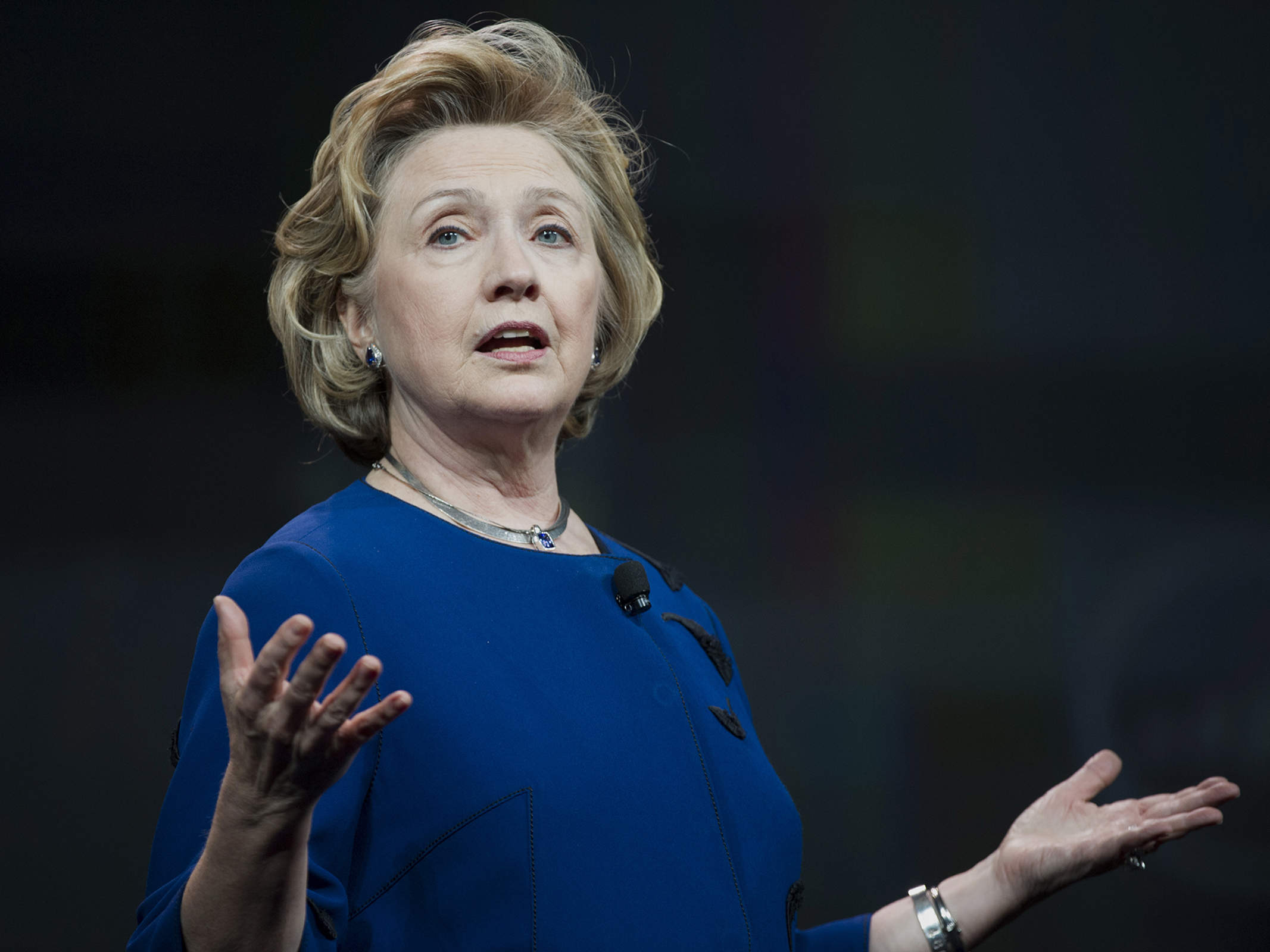 The new stateswoman: Hillary Clinton's steely idealism
