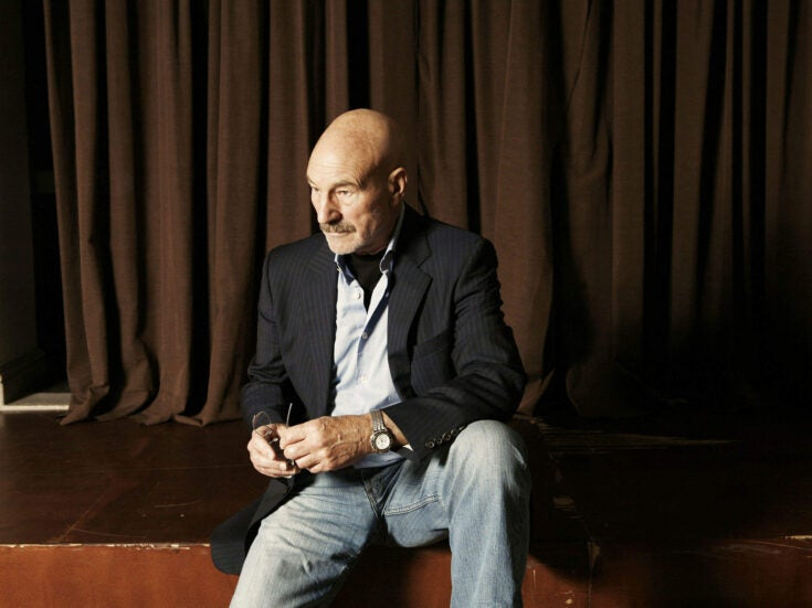 """Patrick Stewart: There's no such thing as """"just a domestic"""""""