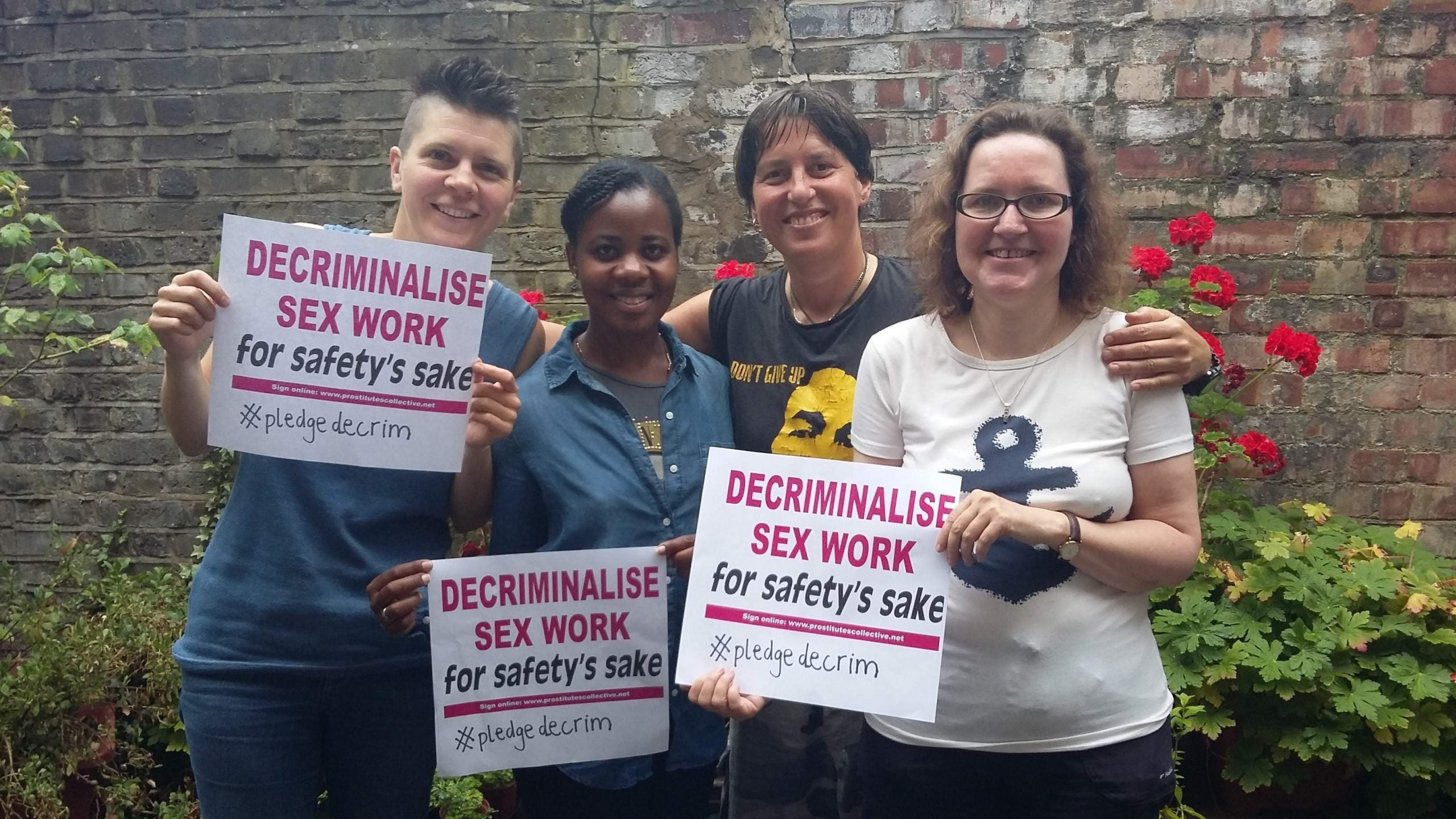 How #pledgedecrim takes sex worker rights to the mainstream