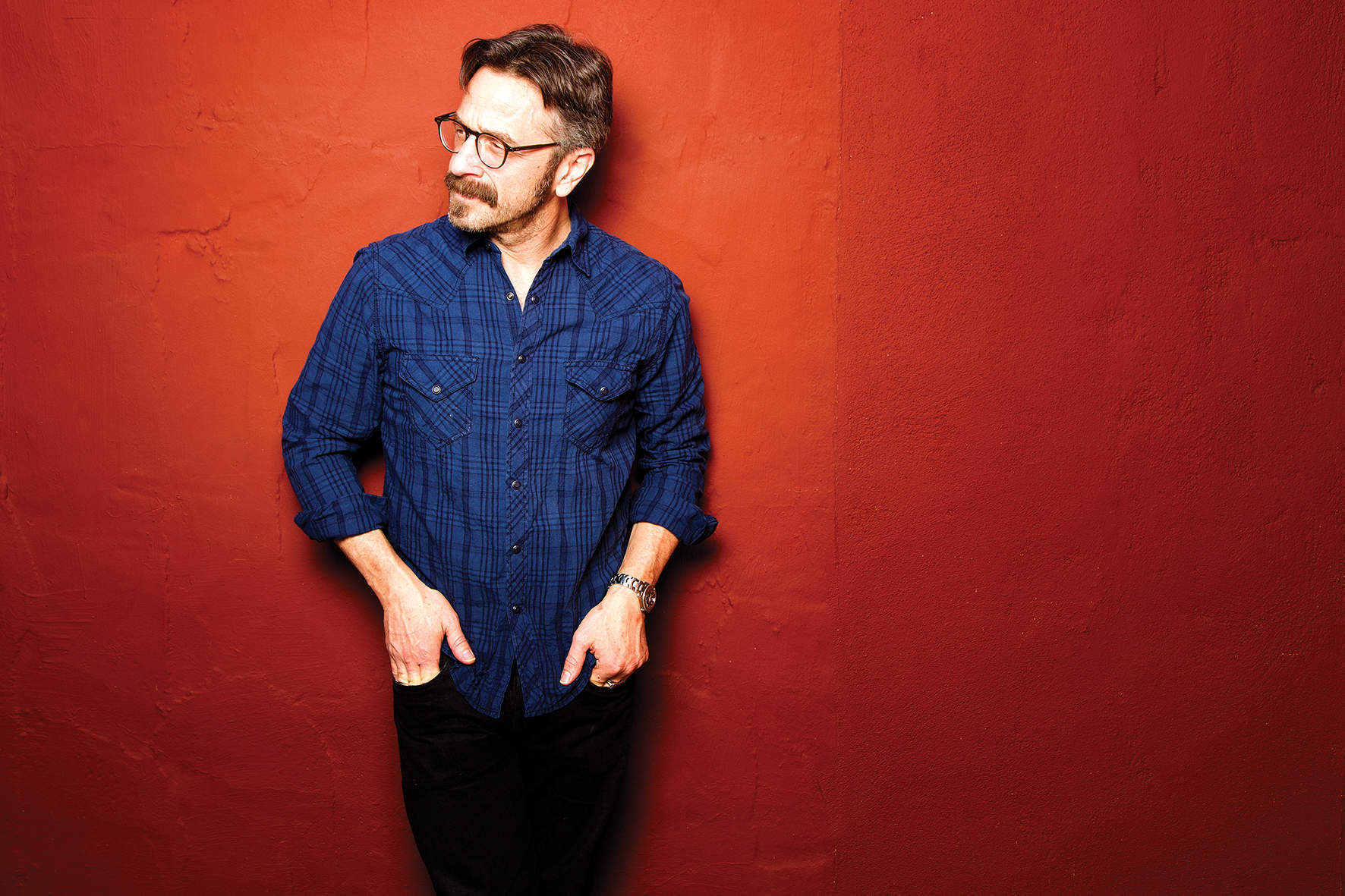 Marc Maron: a conversation with the anxiety co-pilot