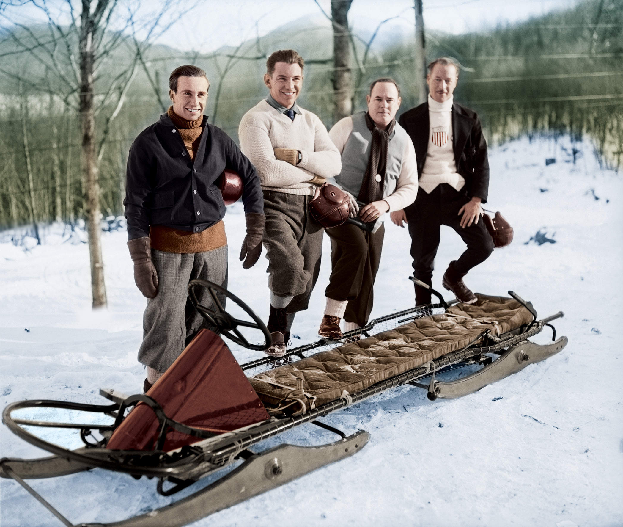 """""""Chariots of Fire meets Cool Runnings?"""": The history of a bobsled team"""