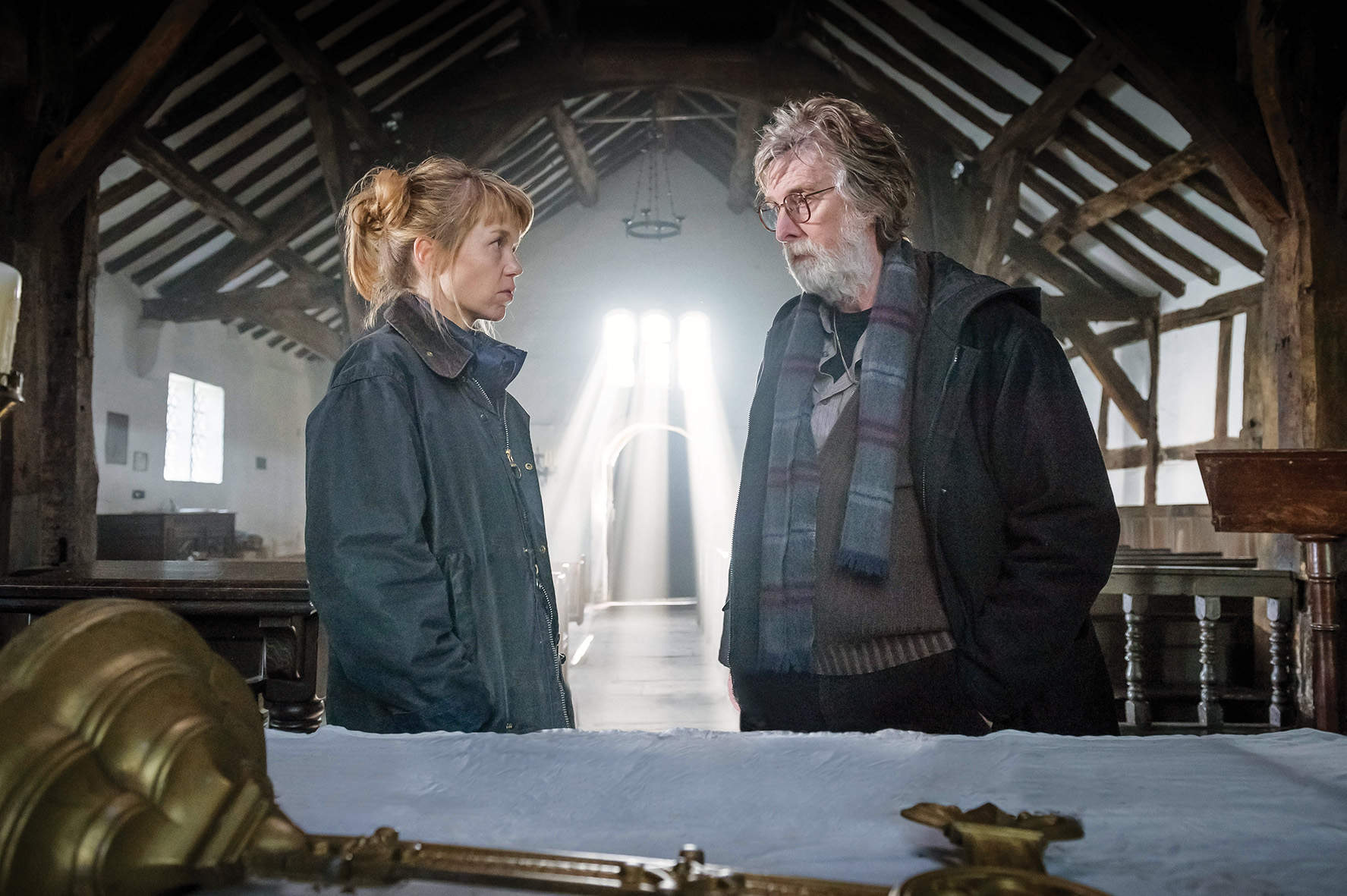 Midwinter of the Spirit is a great blend of serious acting and a truly potty script