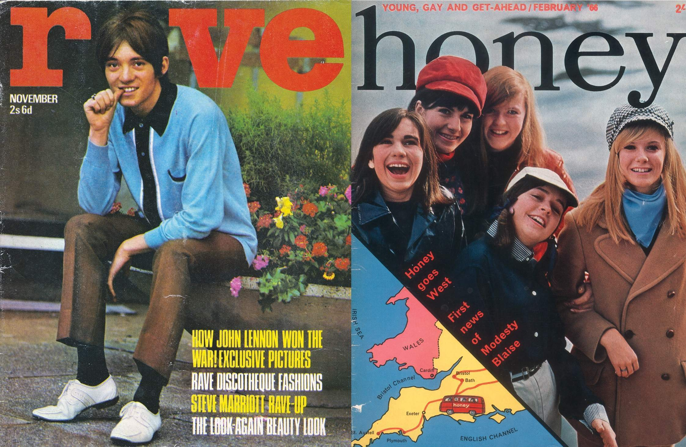 The teen magazines that caught the Sixties as they happened