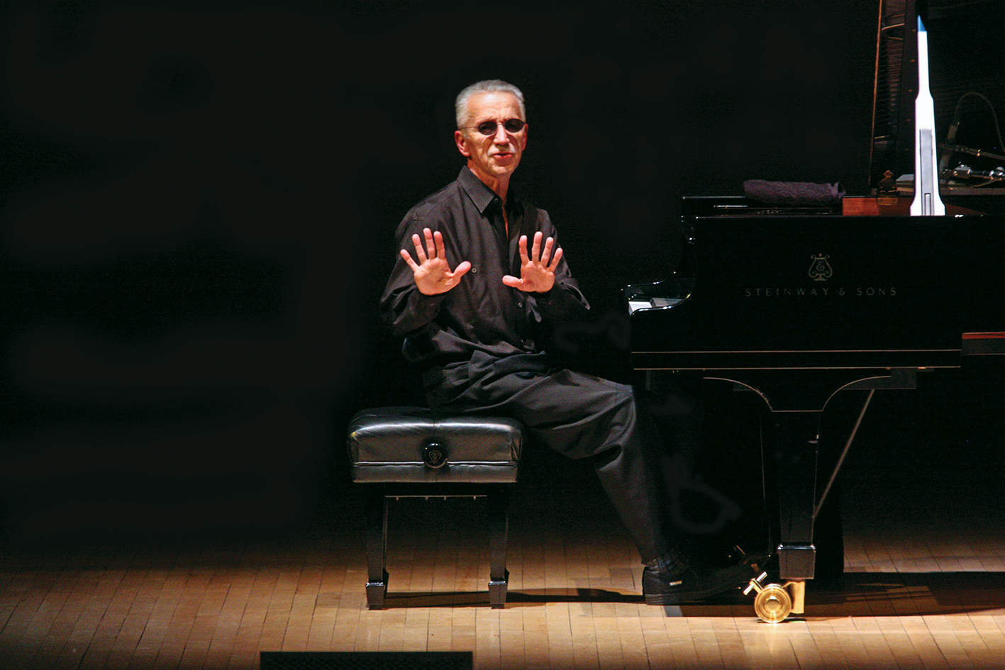 On the trail of Keith Jarrett's melodies