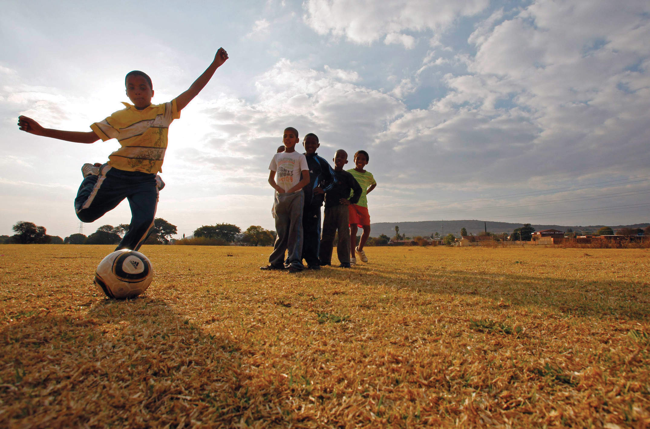 How African boys are trafficked to Europe for football trials