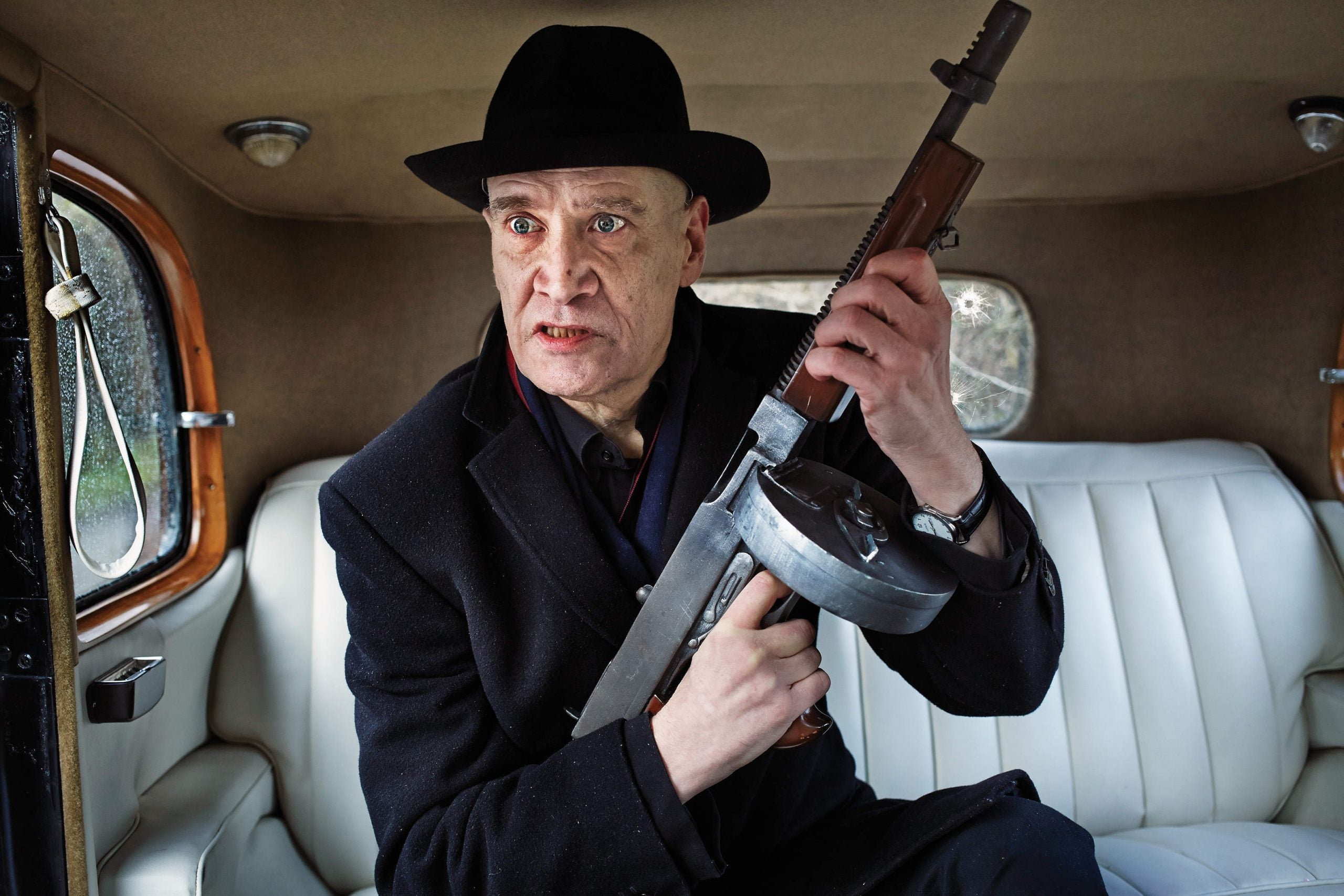 Last year, Wilko Johnson cheated death - now he's back, and bloody annoyed