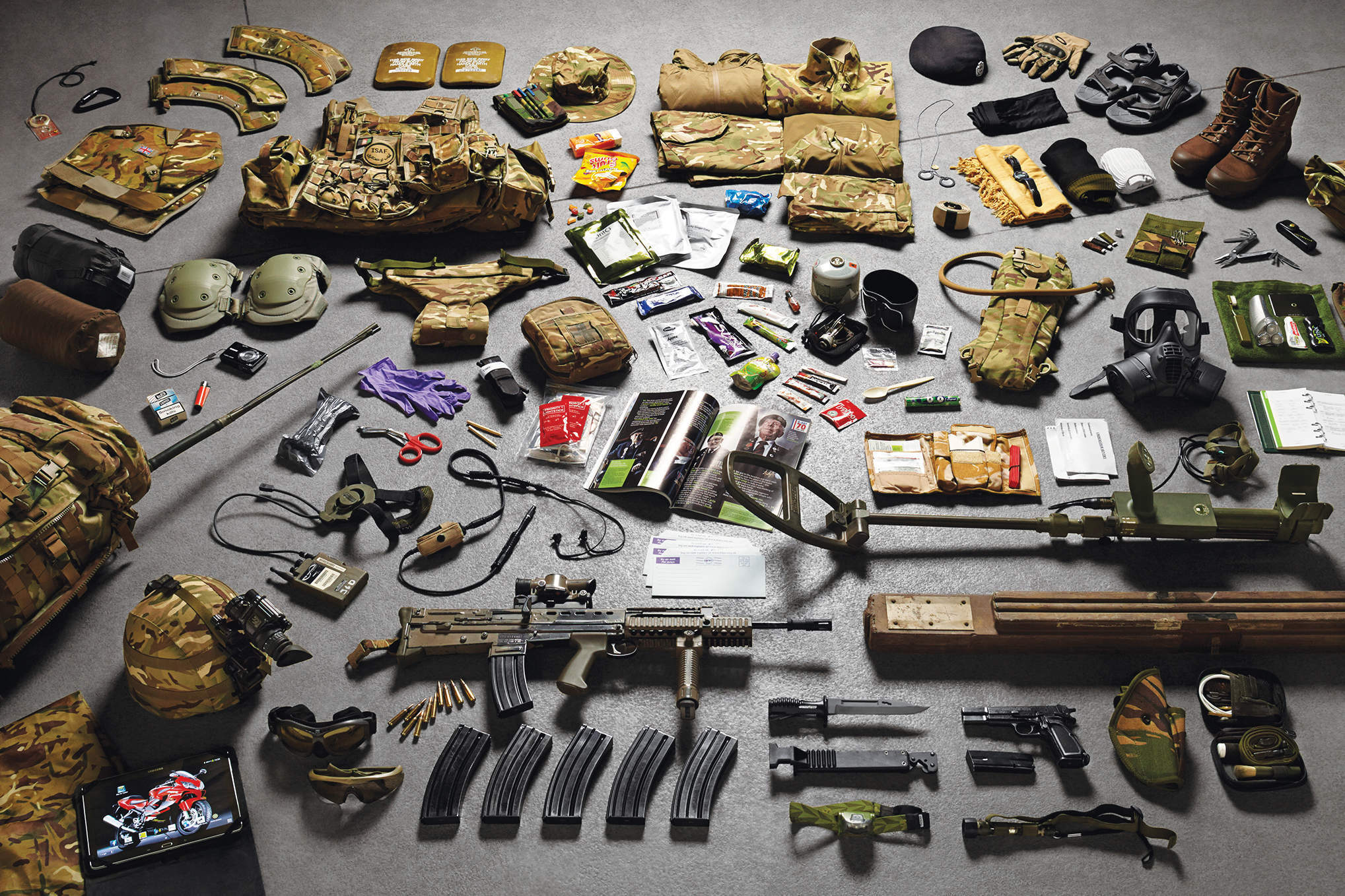 From a bullet to a drone, Anatomy of a Soldier tells the story of a wounded captain through the objects around him