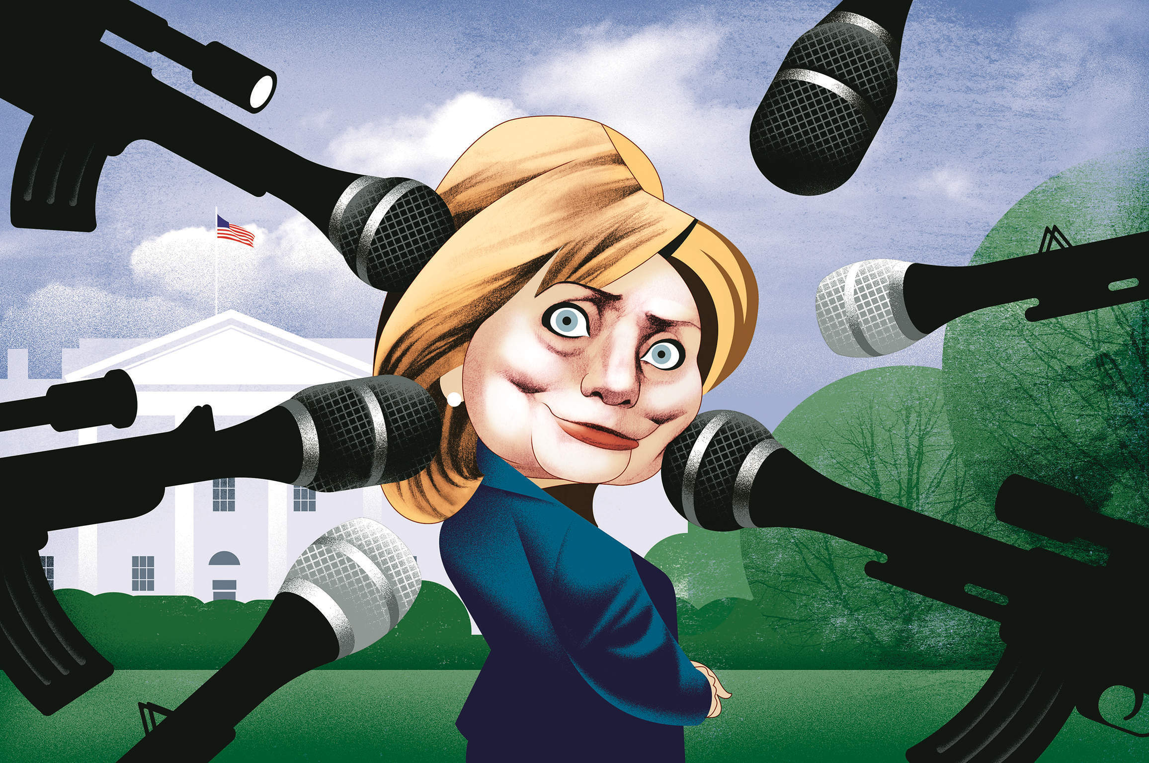 Hillary Clinton's haters and the glass ceiling of American politics