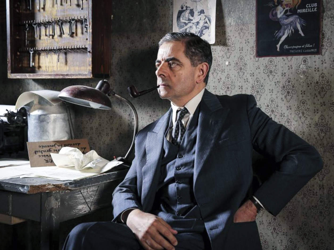 Rowan Atkinson as a French Detective? It's as weird as it sounds