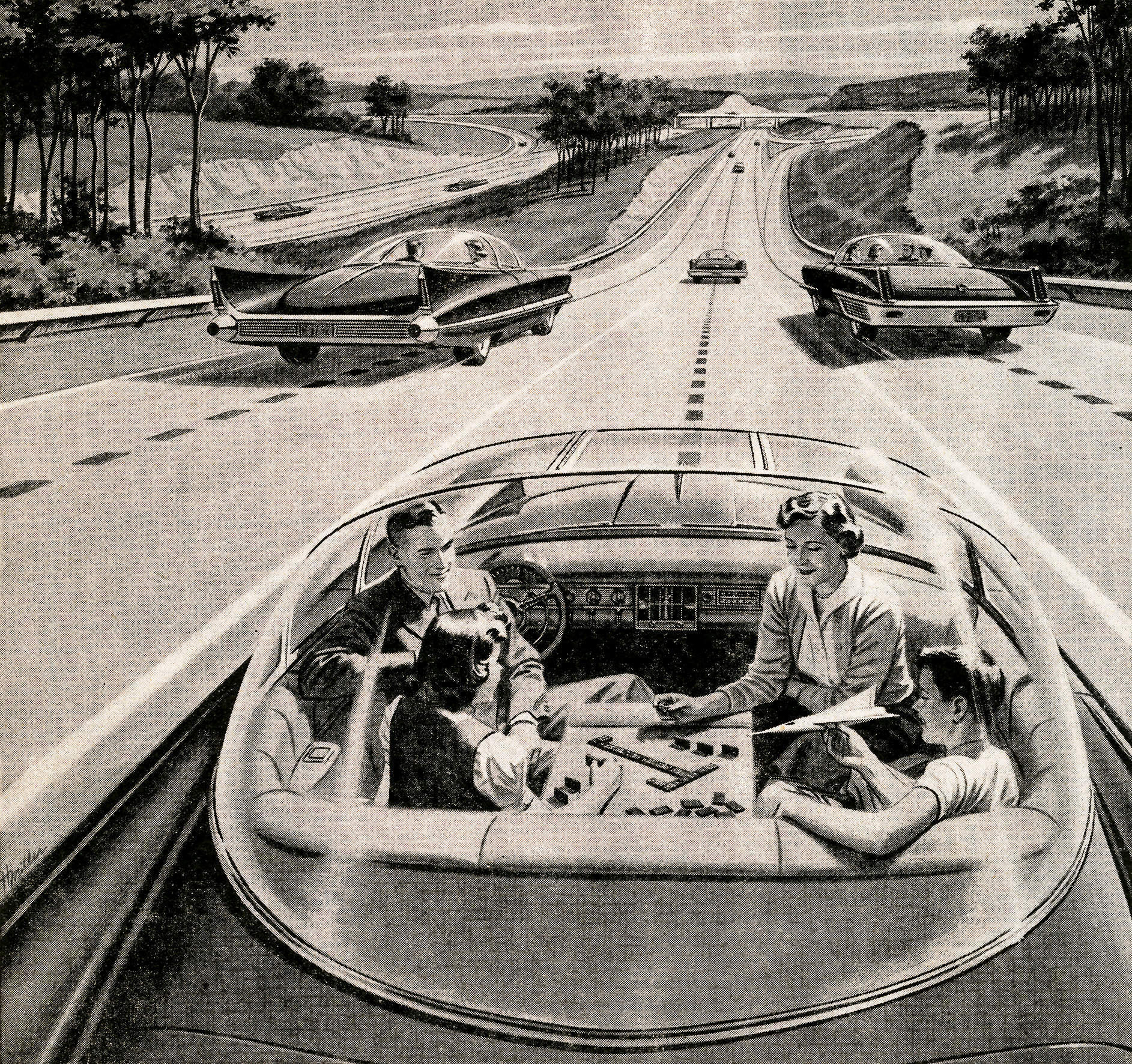 Transport's favourite myth: why we will never own driverless cars