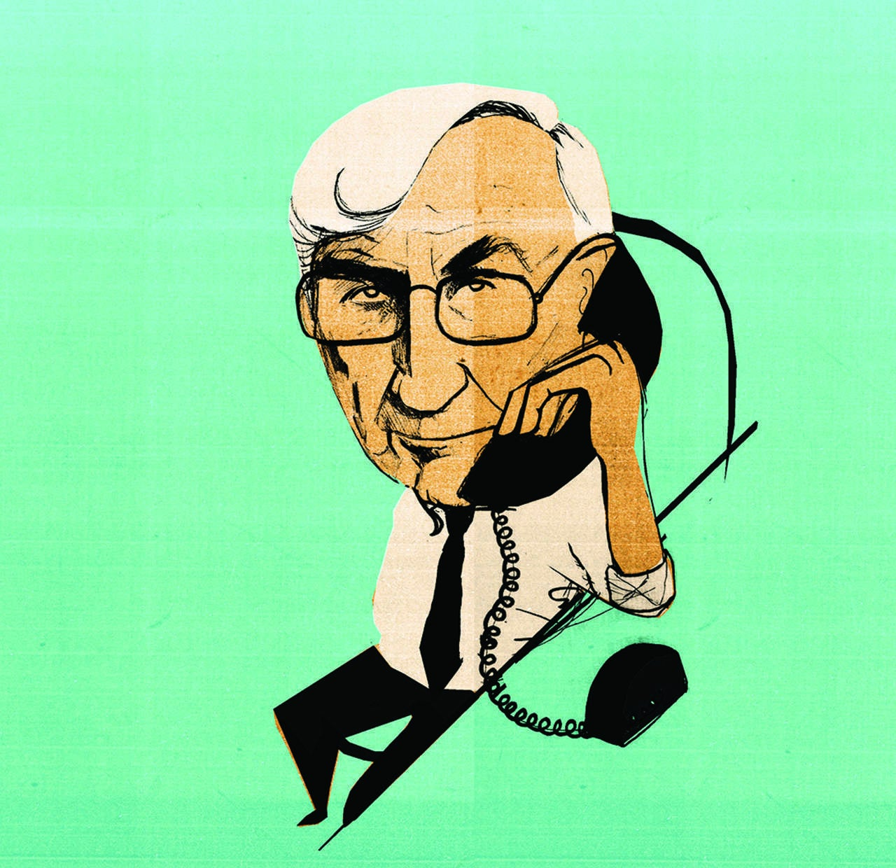 Notes from a crime scene: what Seymour Hersh knows