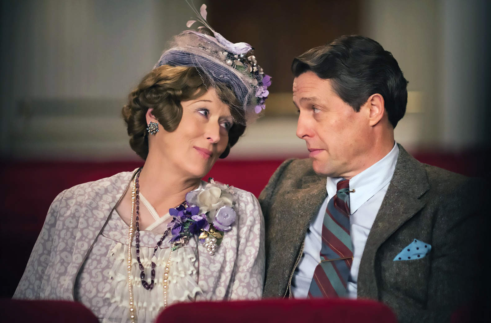 Florence Foster Jenkins shows the delight of love's delusions